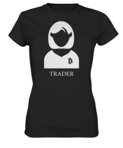 Crypto Trader female edition - Lady T-Shirt Black