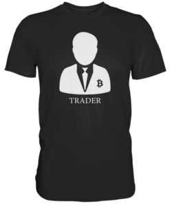Crypto Trader T-Shirt Black