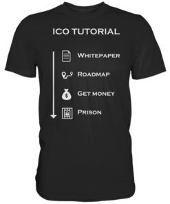 ICO Tutorial - T-Shirt Black