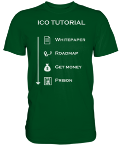 ICO Tutorial - T-Shirt Flaschengrün