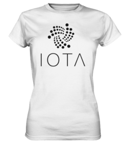 IOTA Logo - Lady T-Shirt White