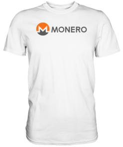 Monero T-Shirt White